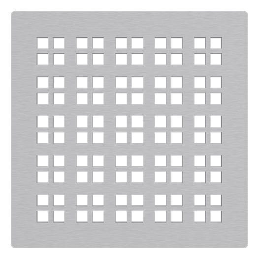 Решетка для трапа AlcaPlast MPV015 (нержавеющая сталь)