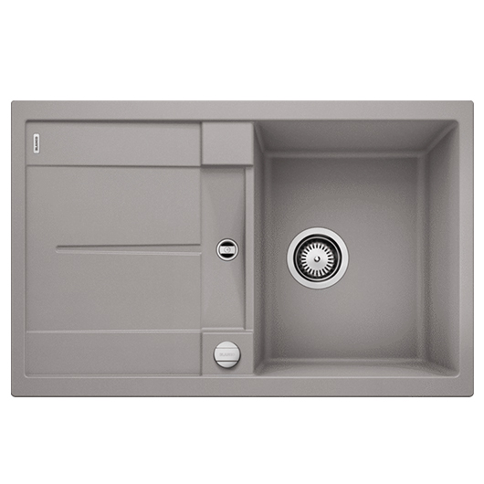 Мойка кухонная Blanco Metra 45 S 513027 (алюметаллик, 780х500 мм)