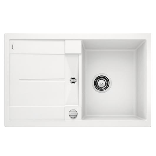 Мойка кухонная Blanco Metra 45 S 513028 (белый, 780х500 мм)