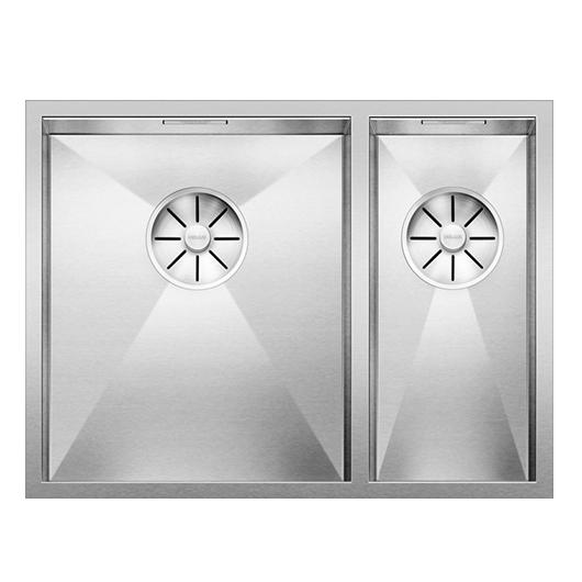 Мойка Blanco Zerox 340/180-IF чаша слева 521611 (зеркальная полировка)