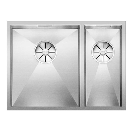 Мойка Blanco Zerox 340/180-U чаша слева 521613 (зеркальная полировка)