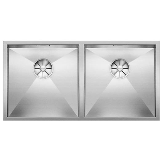 Мойка Blanco Zerox 400/400-IF 521619 (зеркальная полировка)