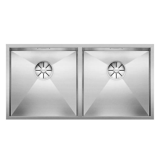 Мойка Blanco Zerox 400/400-U 521620 (зеркальная полировка)