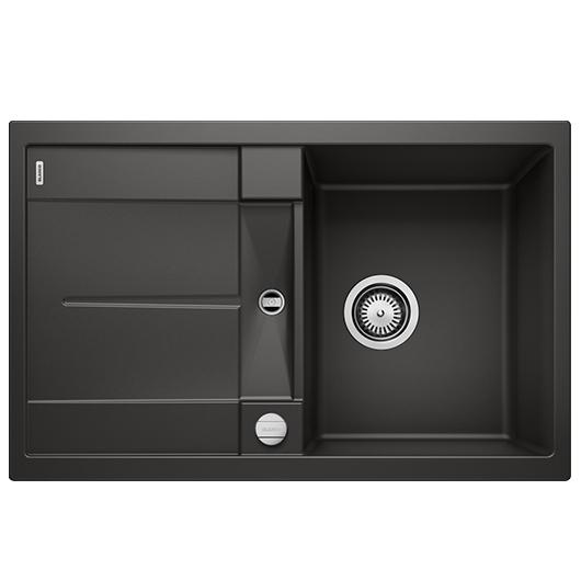 Мойка кухонная Blanco Metra 45 S 525914 (черный, 780х500 мм)