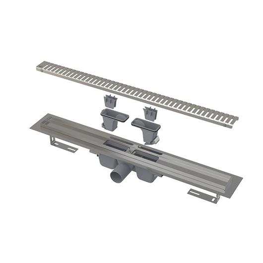 Водоотводящий желоб AlcaPlast APZ1SMART-LINE-750 (750 мм)