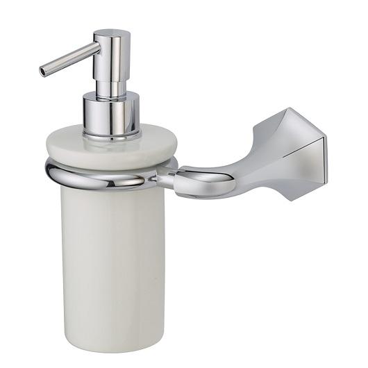 Дозатор жидкого мыла настенный Cisal Cherie CE09062021 (хром глянцевый)