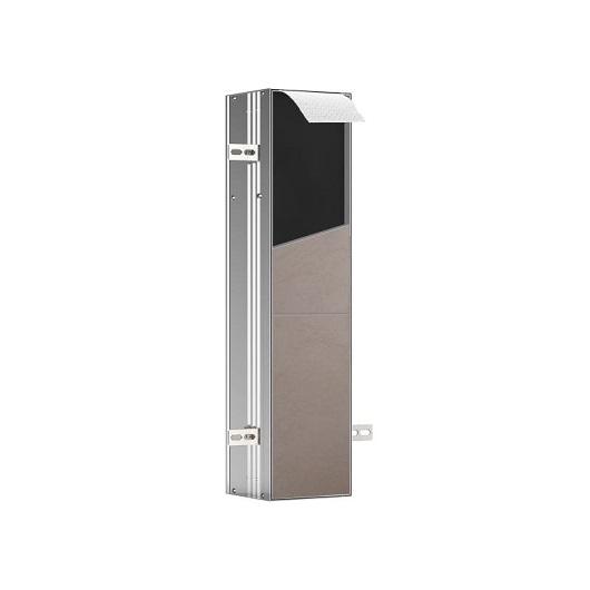 Встраиваемый модуль для туалета Emco Asis Plus Left 9756 110 12 (975611012) (154х658х150 мм) под плитку