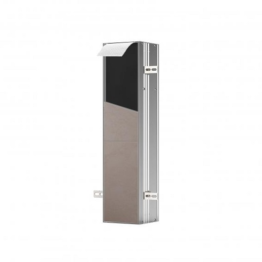 Встраиваемый модуль для туалета Emco Asis Plus Right 9756 110 13 (975611013) (154х658х150 мм) под плитку