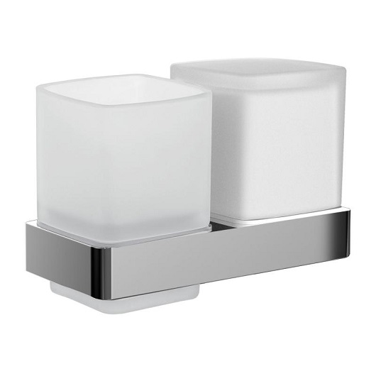 Дозатор жидкого мыла со стаканом настенный Emco Loft 0531 001 01 (053100101)