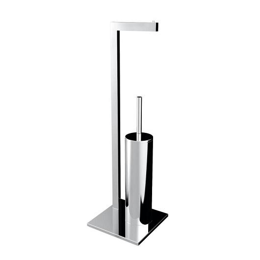 Стойка с туалетным ершиком и бумагодержателем Emco Loft 0580 001 01 (058000101)
