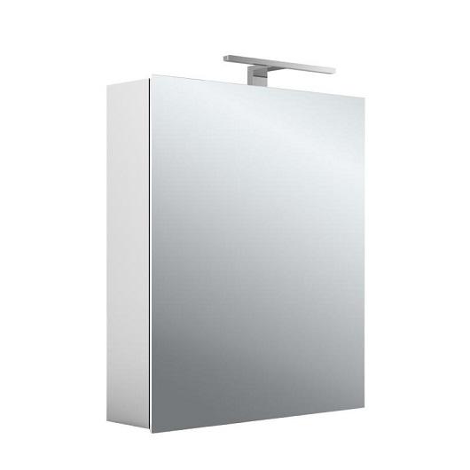 Зеркальный шкаф с подсветкой Asis Mee 9498 050 49 (949805049) (600х746х153 мм)