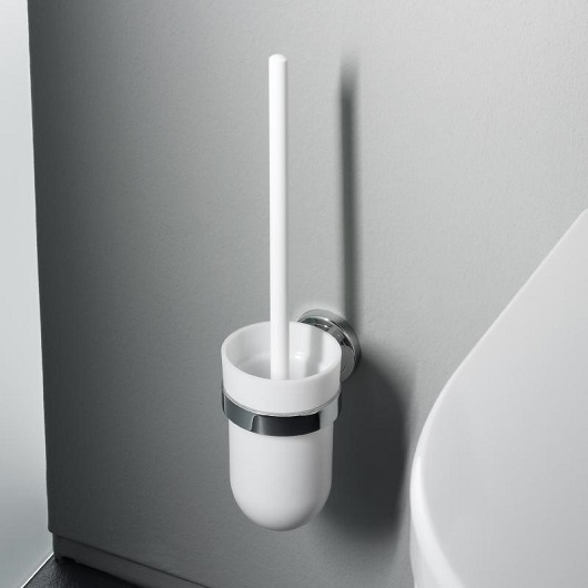 Туалетный ершик настенный Emco Polo 0715 001 01 (071500101) белый/хром