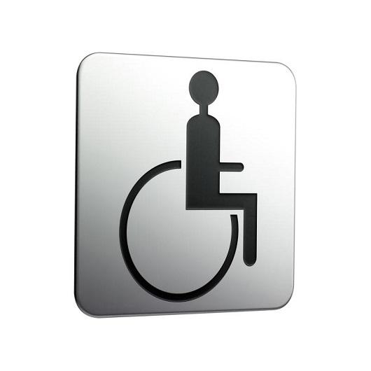 Табличка на дверь Emco System 2 «Handicapped» 3576 000 03 (357600003)