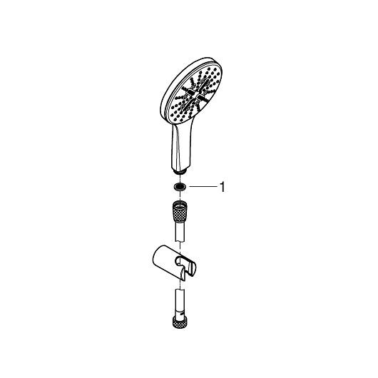 Душевой гарнитур Grohe Rainshower SmartActive 130 26581LS0