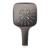 Ручной душ Grohe Rainshower SmartActive 130 Cube 26582A00 (9,5 л/мин, темный графит, глянец)