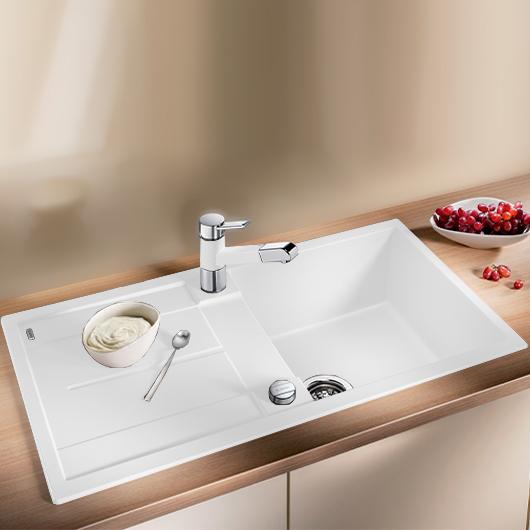 Мойка кухонная Blanco Metra 5 S 513037 (белый, 860х500 мм)
