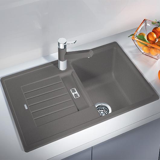Мойка кухонная Blanco Zia 45 S 514725 (алюметаллик, 780х500 мм)
