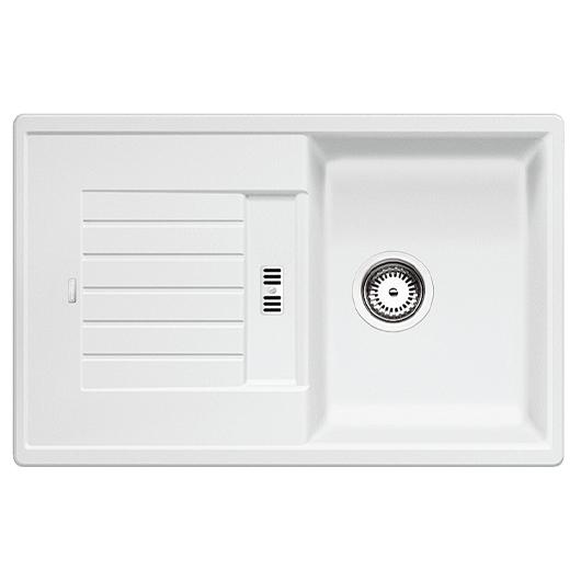 Мойка кухонная Blanco Zia 45 S 514726 (белый, 780х500 мм)