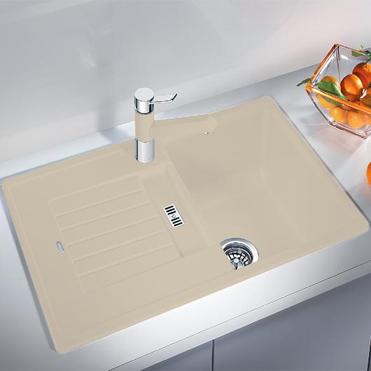 Мойка кухонная Blanco Zia 45 S 514728 (шампань, 780х500 мм)