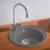 Мойка кухонная Blanco Rondoval 45 515670 (алюметаллик, 535х490мм)