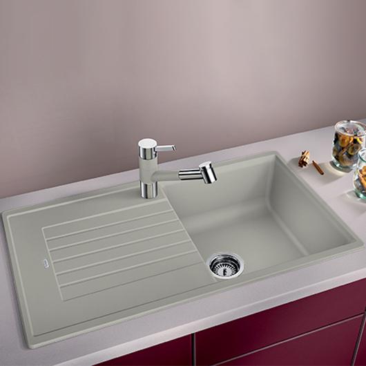 Мойка кухонная Blanco Zia 5 S 520514 (жемчужный, 860х500 мм)