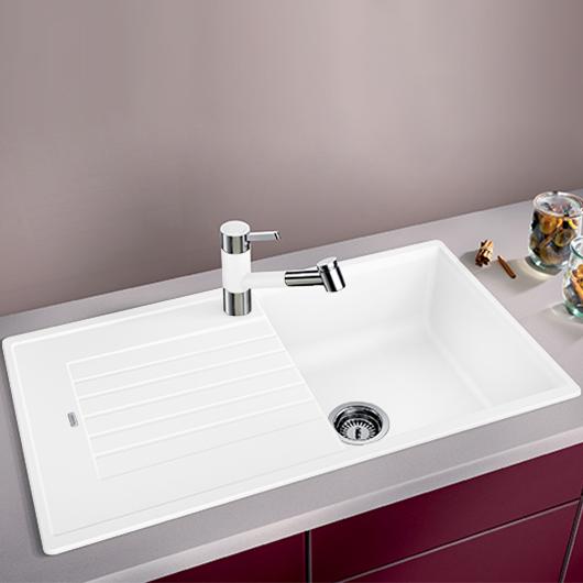 Мойка кухонная Blanco Zia 5 S 520515 (белый, 860х500 мм)