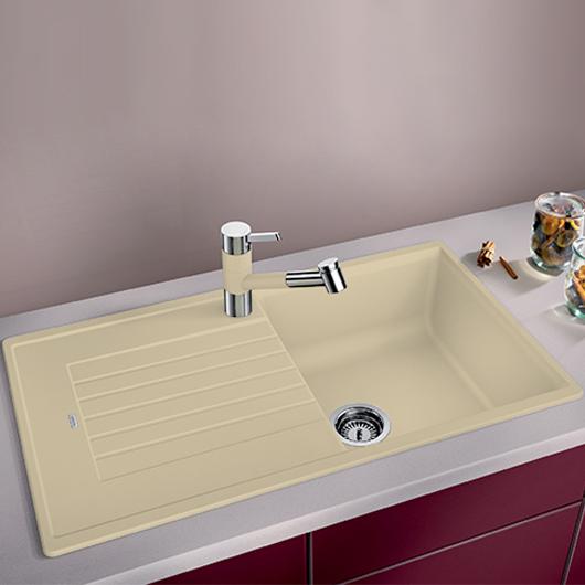 Мойка кухонная Blanco Zia 5 S 520517 (шампань, 860х500 мм)