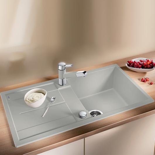 Мойка кухонная Blanco Metra 5 S 520571 (жемчужный, 860х500 мм)