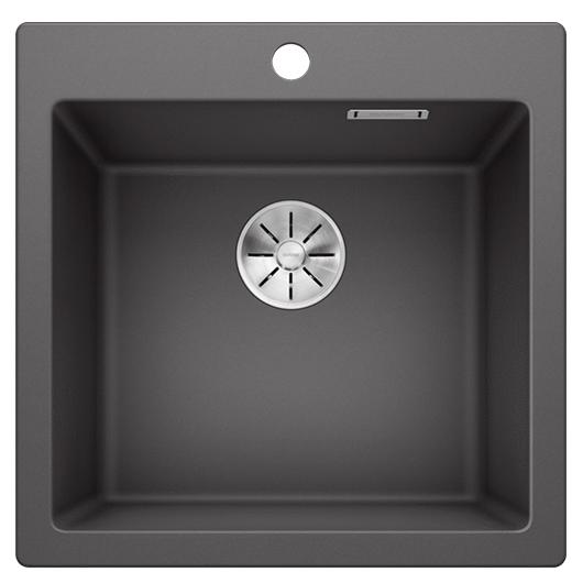 Мойка кухонная Blanco Pleon 5 521669 (темная скала, 515х510 мм)