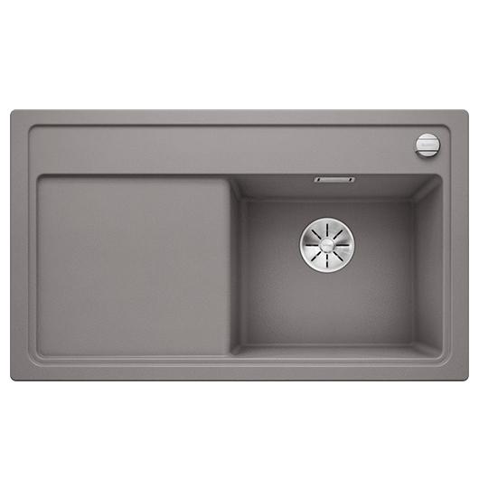 Мойка кухонная Blanco Zenar 45 S 523711 (алюметаллик, чаша справа, 860х510 мм)