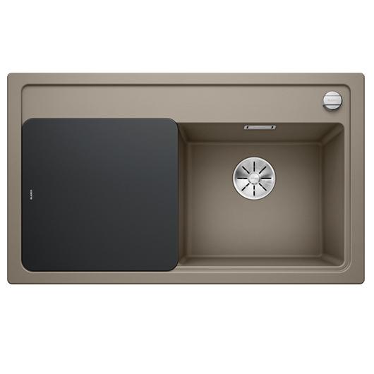 Мойка кухонная Blanco Zenar 45 S 523720 (серый беж, чаша справа, 860х510 мм)