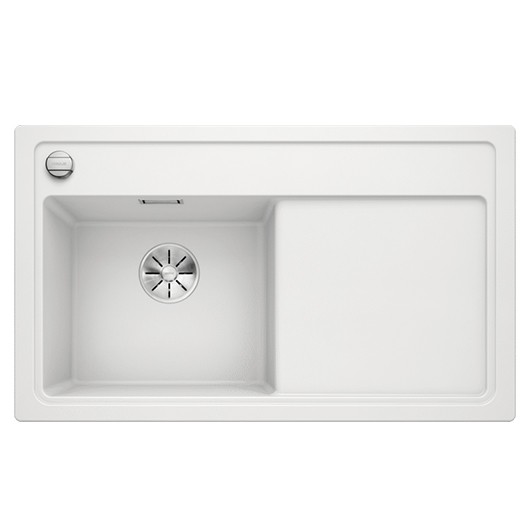 Мойка кухонная Blanco Zenar 45 S 523810 (белый, чаша слева, 860х510 мм)