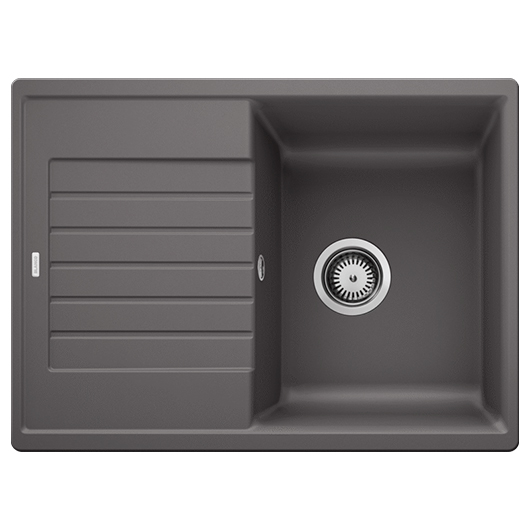 Мойка кухонная Blanco Zia 45 S Compact 524722 (темная скала, 680х500 мм)