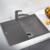 Мойка кухонная Blanco Zia 45 S Compact 524723 (алюметаллик, 680х500 мм)