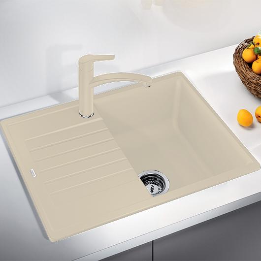 Мойка кухонная Blanco Zia 45 S Compact 524727 (шампань, 680х500 мм)