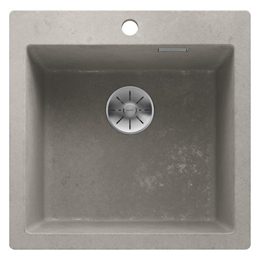 Мойка кухонная Blanco Pleon 5 525304 (бетон, 515х510 мм)