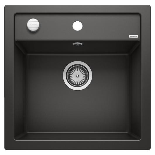 Мойка кухонная Blanco Dalago 5 525871 (черный, 515х510 мм)
