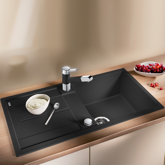 Мойка кухонная Blanco Metra 5 S 513044 (антрацит, 860х500 мм)