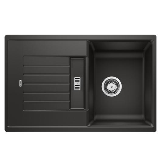 Мойка кухонная Blanco Zia 45 S 526013 (черный, 780х500 мм)