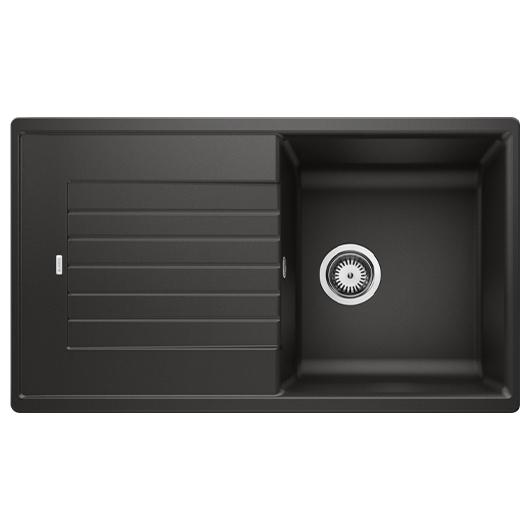 Мойка кухонная Blanco Zia 5 S 526016 (черный, 860х500 мм)