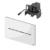 Электронная панель смыва TECE TECEsolid 9240452 (белый глянцевый) питание от сети 12 В