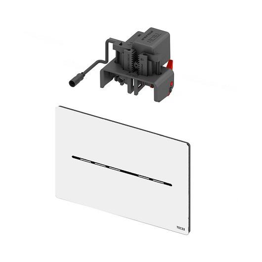 Электронная панель смыва TECE TECEsolid 9240463 (белый матовый) питание от батареи 6 В
