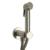 Гигиенический набор Bossini Paloma Brass Mixer Set E37005 Brushed Nickel (шлифованный никель)