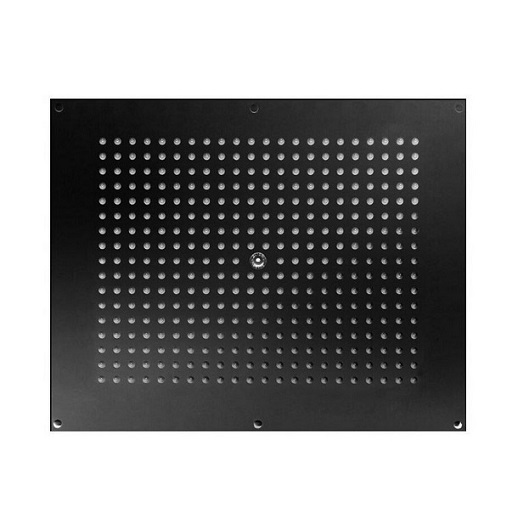 Верхний душ Bossini Dream Rectangular H38391 Black Matt (570х470 мм, черный матовый)