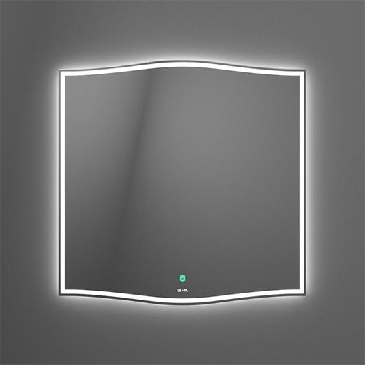 Зеркало с LED подсветкой OWL 1975 Roxen OWLM200101 (750х745 мм)