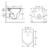 Унитаз подвесной безободковый OWL 1975 Eter Cirkel-H OWLT190201 (сиденье микролифт)