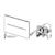 Электронная панель смыва TECE TECEsolid 9240451 (хром глянцевый) питание от сети 12 В