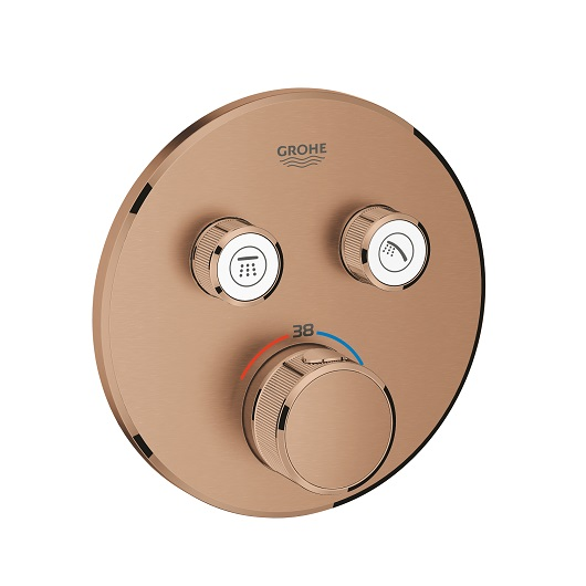 Термостат Grohe Grohtherm SmartControl 29119DL0 (теплый закат, матовый)