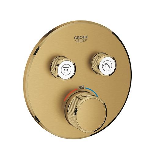 Термостат Grohe Grohtherm SmartControl 29119GN0 (холодный рассвет, матовый)
