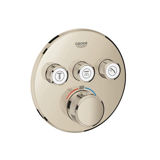 Термостат Grohe Grohtherm SmartControl 29121BE0 (никель глянец)